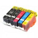 Pack 5 Canon PGI-520 / CLI-521 Cartuchos de Tinta Compatible PREMIUN