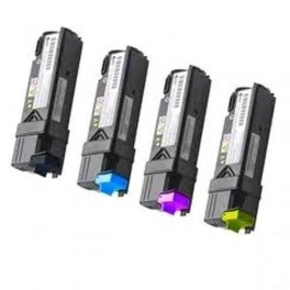 Pack 4 Dell 1230 / 1235 Toner compatible