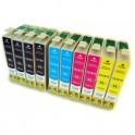 EPSON T1811/2/3/4 (18XL) PACK 10 COLORES CARTUCHO DE TINTA COMPATIBLES PREMIUN