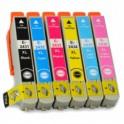 MULTIPACK 6 CARTUCHOS TINTA EPSON T2431 T2432 T2433 T2434 T2435 T2436 / 24XL COMPATIBLE