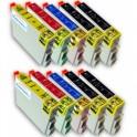 PACK 10 CARTUCHOS COMPATIBLES EPSON T0441/2/3/4 PREMIUN