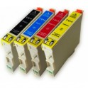 EPSON T0611/2/3/4 MULTIPACK 4 CARTUCHOS DE TINTA COMPATIBLE PREMIUN