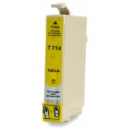 Epson T0714 Cartucho de Tinta Amarillo Compatible PREMIUN