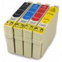 EPSON T0711/2/3/4 PACK 4 CARTUCHOS DE TINTA COMPATIBLES PREMIUN