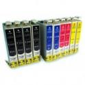 MULTIPACK 10 CARTUCHOS DE TINTA EPSON T0711/2/3/4 COMPATIBLES PREMIUN