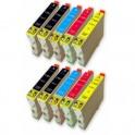 EPSON T0551/2/3/4 PACK 10 CARTUCHOS COMPATIBLES PREMIUN