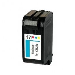 HP 17 Cartucho de Tinta Color Remanufacturado