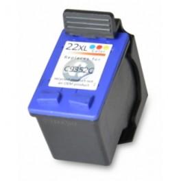 HP 22XL Cartucho de Tinta Color Remanufacturado PREMIUN