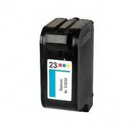 HP 23 Cartucho de Tinta Negro Remanufacturado