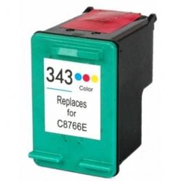 HP 343 Cartucho de tinta color remanufacturado PREMIUN