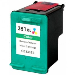 HP 351XL Cartucho de tinta color remanufacturado PREMIUN
