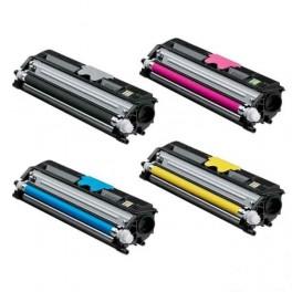 Pack 4 Konica Minolta 16XX Toner Compatible