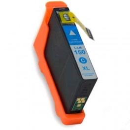 Lexmark 150XL / 14N1615E Cartucho de tinta Cian Compatible