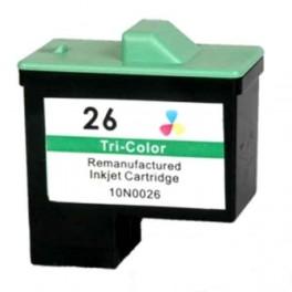 Lexmark 26 / 27 / 010N0026 Cartucho de tinta Color Compatible PREMIUN