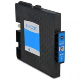 Ricoh GC-21C / GC21 XXL / 405533 Cartucho de tinta Cian compatible