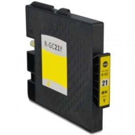 Ricoh GC-21Y / GC21 XXL / 405535 Cartucho de tinta Amarillo compatible