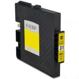 Ricoh GC-31Y / GC31 XXL / 405704 Cartucho de tinta Amarillo compatible