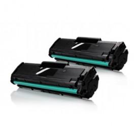 Pack 2 Samsung D101 / MLTD101 S/ELS Toner Negro Compatible