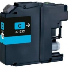 Brother LC-121/ LC-123,V3 cyan compatible