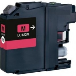 Brother LC-121/ LC-123, V3 magenta compatible