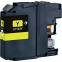 Brother LC-121/ LC-123,V3 amarillo compatible