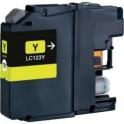 Brother LC-121/ LC-123,V3 amarillo compatible
