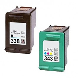 PACK HP-338XL-HP-343XL