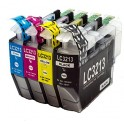 BROTHER LC-3213/LC-3211 V2 PACK 4 COLORES COMPATIBLES PREMIUN