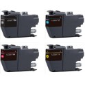 BROTHER LC-3217 PACK 4 CONSUMIBLES COMPATIBLES PREMIUN