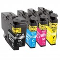BROTHER LC-3237 PACK 4 COMPATIBLES PREMIUN