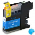 BROTHER LC-125 XL V3 CYAN COMPATIBLE PREMIUN